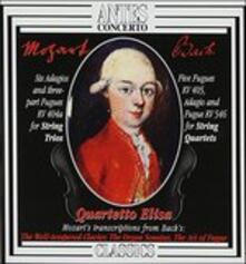 Sechs Adagios & Fugen kv - CD Audio di Wolfgang Amadeus Mozart