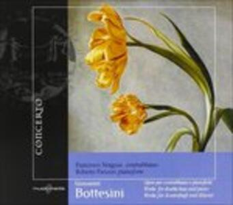 Musica per contrabbasso e pianoforte - CD Audio di Giovanni Bottesini