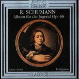 Album fur die Jugend op.68 - CD Audio di Robert Schumann