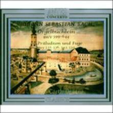 Orgelbüchlein - CD Audio di Johann Sebastian Bach,Alessio Corti