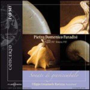 Sonate di gravicembalo - CD Audio di Pietro Domenico Paradisi,Filippo Emanuele Ravizza