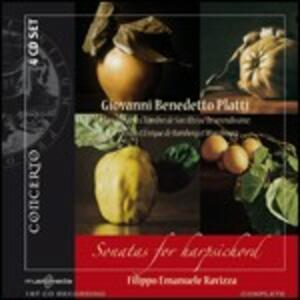 Sonate per clavicembalo - CD Audio di Giovanni Benedetto Platti,Filippo Emanuele Ravizza