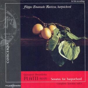 Sonate per clavicemblao - CD Audio di Giovanni Benedetto Platti,Filippo Emanuele Ravizza