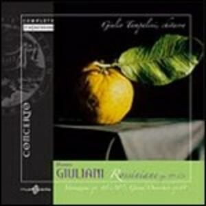 Rossiniane - Variazioni op.45, op.107 - Grande Ouverture op.61 - CD Audio di Mauro Giuliani