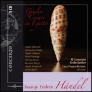 Giulio Cesare in Egitto - CD Audio di Georg Friedrich Händel