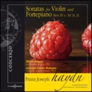 Sonate per violino e fortepiano Hob.XV a - XV 31, 32 - CD Audio di Franz Joseph Haydn,Alberto Bologni,Giuseppe Fausto Modugno