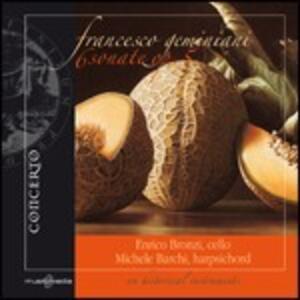 6 Sonate di violoncello e basso continuo - CD Audio di Francesco Geminiani,Enrico Bronzi