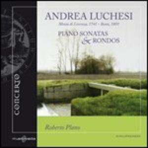 Sonate per pianoforte - Rondò - CD Audio di Andrea Lucchesi,Roberto Plano