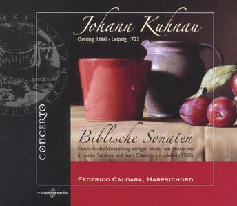 Biblische Sonaten - CD Audio di Johann Kuhnau