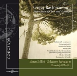 Opere per pianoforte a 4 e 6 mani - CD Audio di Sergej Vasilevich Rachmaninov
