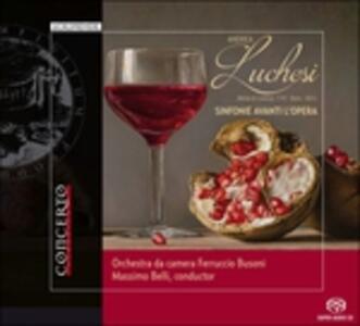 Sinfonie Avanti l'opera - SuperAudio CD ibrido di Andrea Luchesi