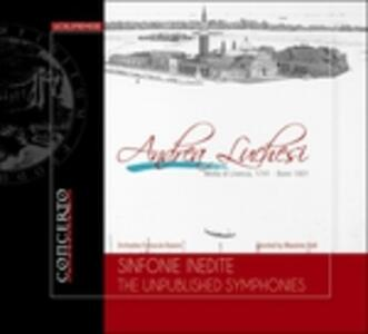 Sinfonie inedite - CD Audio di Andrea Luchesi