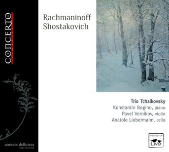 Trio elegiaco n.2 / Trio n.2 op.67 - CD Audio di Sergej Vasilevich Rachmaninov,Dmitri Shostakovich