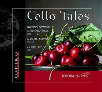 Cello Tales - CD Audio di Roberta Invernizzi,Ensemble Chiaroscuro