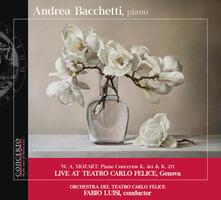 Concerti per pianoforte K414, K271 - CD Audio di Wolfgang Amadeus Mozart,Andrea Bacchetti