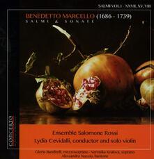 Salmi & sonate vol.1 - CD Audio di Benedetto Marcello,Gloria Banditelli,Veronika Kralova,Lydia Cevidalli,Ensemble Salomone Rossi