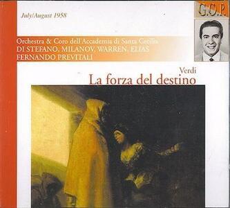 La Forza Del Destino - CD Audio di Giuseppe Verdi