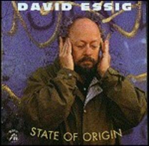 State of Origin - CD Audio di David Essig