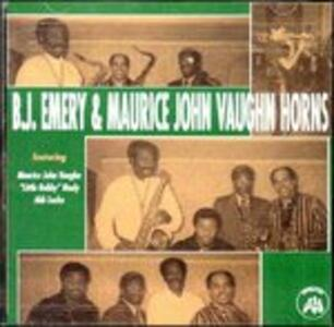 B.J. Emery & Maurice John Vaughn - CD Audio di Maurice John Vaughn,B.J. Emery
