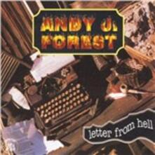 Letter from Hell - CD Audio di Andy J. Forest
