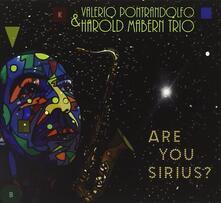 Are You Sirius? - CD Audio di Harold Mabern,Valerio Pontraldolfo