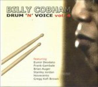 Drum 'n' Voice vol.4 - CD Audio di Billy Cobham