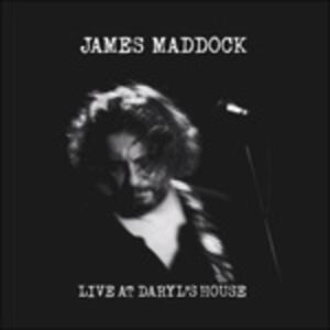 Live at Daryl's House 2016 - CD Audio di James Maddock