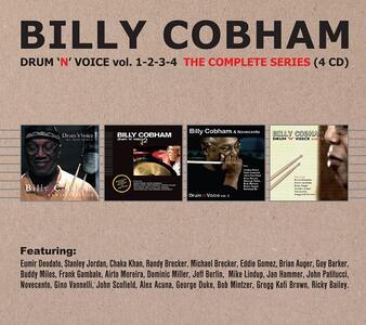Drum 'n' Voice vols. 1, 2, 3, 4 - CD Audio di Billy Cobham