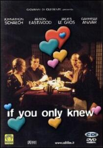 If you only knew di David Snedeker - DVD