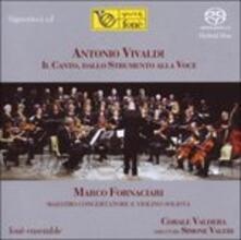 Il canto, dallo strumento alla voce - SuperAudio CD ibrido di Antonio Vivaldi