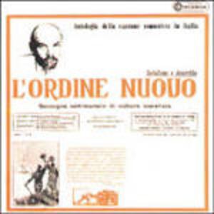 L'Ordine Nuovo: Antologia della canzone comunista in Italia - CD Audio
