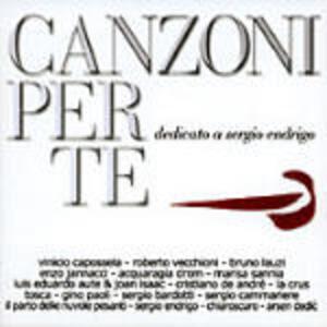 Canzoni per te: Tributo a Sergio Endrigo - CD Audio