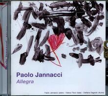 Allegra - CD Audio di Paolo Jannacci