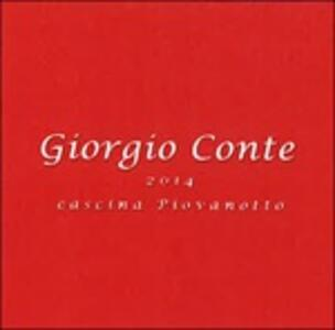 2014 Cascina Piovanotto - CD Audio di Giorgio Conte