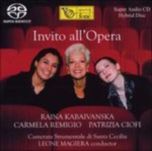 Invito all'Opera - SuperAudio CD ibrido di Raina Kabaivanska