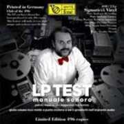 Vinile Lp Test. Manuale Sonoro Giulio Cesare Ricci