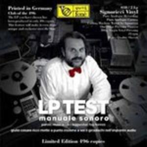 Lp Test. Manuale Sonoro - Vinile LP di Giulio Cesare Ricci