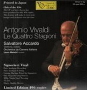 Le quattro stagioni - Vinile LP di Antonio Vivaldi,Salvatore Accardo