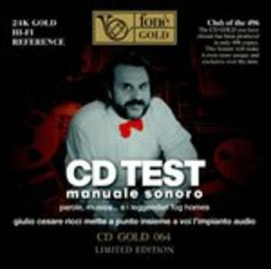 Lp Test. Manuale Sonoro - CD Audio di Giulio Cesare Ricci
