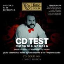 Lp Test. Manuale Sonoro - CD Audio di Giulio Cesare Ricci