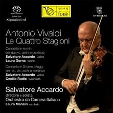 Le quattro stagioni - SuperAudio CD ibrido di Antonio Vivaldi,Salvatore Accardo