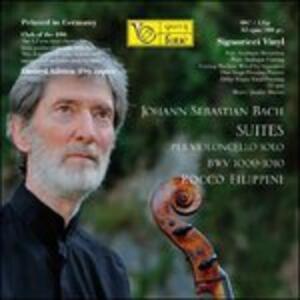 Suites per violoncello solo - Vinile LP di Johann Sebastian Bach,Rocco Filippini