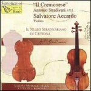 Il cremonese - Vinile LP di Salvatore Accardo,Fritz Kreisler,Laura Manzini