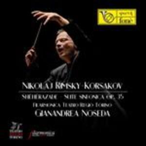 Shéhérazade - Suite sinfonica op.35 - Vinile LP di Nikolai Rimsky-Korsakov,Gianandrea Noseda,Orchestra del Teatro Regio di Torino