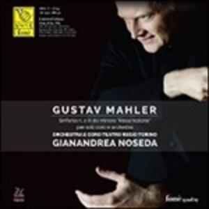 Sinfonia n.2 - Vinile LP di Gustav Mahler,Gianandrea Noseda,Orchestra del Teatro Regio di Torino