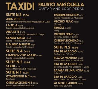 Taxidi - CD Audio di Fausto Mesolella - 2