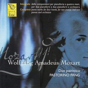 Musica Completa per Pianoforte a Quattro Mani - CD Audio di Wolfgang Amadeus Mozart