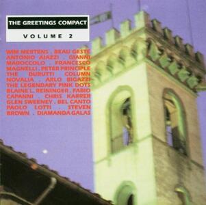 Greetings Compact vol.2 - CD Audio