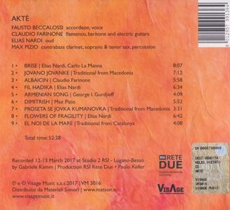 Aktè - CD Audio di Claudio Farinone,Fausto Beccalossi,Elias Nardi,Max Pizio - 2