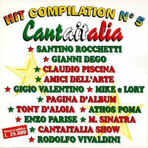 Hit Compilation n.5 Cantaitalia - CD Audio